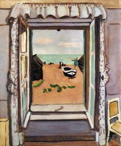 Henri Matisse, Fenêtre Ouverte, 1920 on ArtStack #henri-matisse #art