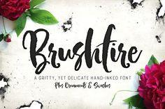Brushfire Typeface +