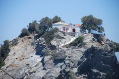 St. John's church on the island of Skopelos. This is where the wedding scene from the film Mama Mia was filmed (photo by Evelyn Vergos)
