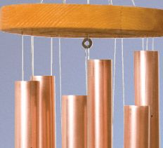 Copper Wind Chime Project How-to turn copper plumbing pipe into wind chimes that look beautiful and sound great.