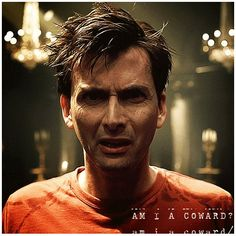 """""""Am I a coward? Who calls me 'villain'?"""" ♥ from Hamlet, yet oddly accurate for the Doctor as well."""