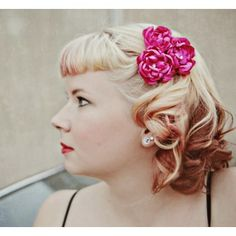 Pin up Flower Bundle Hair Clip by SIns 'n Needles