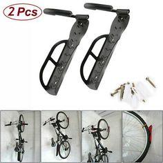 Bicycle Storage Hooks Garage Bike Ceiling Tool Hangers Wall Mount Hose Set Of 8