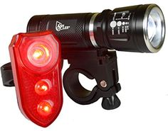 Bike Headlight-Taillight Combinations - SafeCycler LED Bike Lights  Super Bright Front And Rear Bicycle Light Set for Your Safety  Flashing Lights Grab Motorists Attention Be Safer Today *** Read more at the image link.