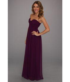 Donna Morgan Laura Gown Grape