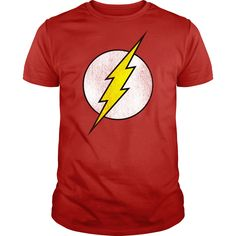 the flash logo vintage worn  T Shirt, Hoodie, Sweatshirt