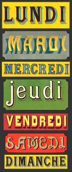 semaine bricolage - Mlle Mimoz - semaine bricolage Days of the week, Les Jours de la Semaine Visit www. to learn more about French course options from French Lessons Brisbane - French Teaching Resources, Teaching French, Spanish Activities, Teaching Spanish, French Phrases, French Words, Cajun French, French Course, Learn To Speak French
