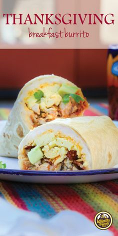 What to do with all them leftovers? Build a Thanksgiving breakfast burrito, that's what!
