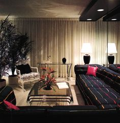 1980s Living Room Decor