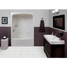 Mirolin Victoria 60 Inch 3 Piece Acrylic Tub And Shower Left Hand $999.00