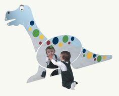 Bring the Good Dinosaur or Jurassic Park right into your classroom or kids room with this Dino Mirror