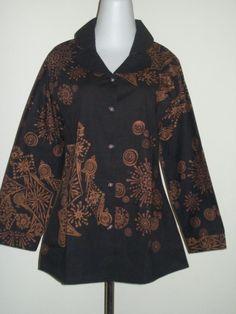 Dress batik kontemporer wwwfacebookcomkizeebutik  Batik