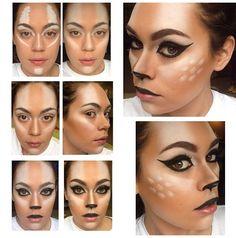 DEER makeup:)