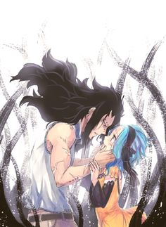 Gajeel and Levy are now my favorite couple! - Fairy Tail