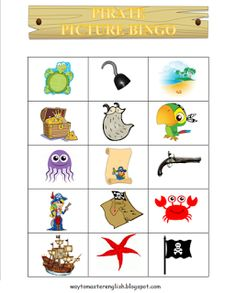 Funglish: Pirates