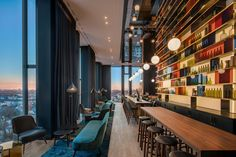 concrete proudly presents the opening of its latest project, Hotel Andaz Munich in Schwabing. The Andaz hotel reflects the culture and . Sky Bar, Casual Decor, Natural Stone Flooring, Art Nouveau Architecture, Glass Facades, Treatment Rooms, Hotel Lobby, Lobby Lounge, Rooftop Bar