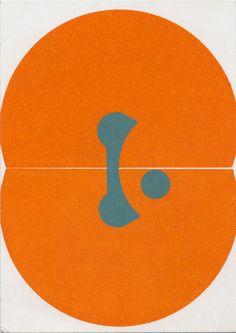 Karel Martens Untitled, 1986 letterpress on paper 4 ⅛ × 5 ⅞ in. (105 × 148mm)