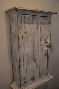 Primitive wall cabinet, Primitive kitchen cabinet, Primitive jelly cupboard, French Country wall cabinet on Etsy, $199.99