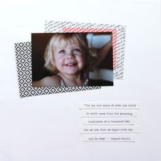 Memory Keeping with Project Life and Stampin' Up! Blog Hop   L'Enfant Chéri