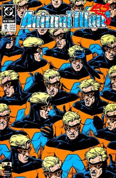 The cover to Animal Man #12 (1989), art by Brian Bolland