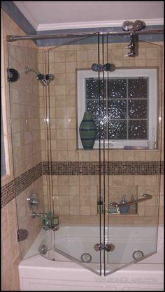 Wilson Gl Tri Fold Bath Enclosure Bifold Shower Door Custom Doors