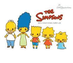 The simpsons chibi