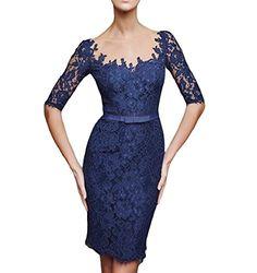 PinRro Knee Length Sheer Lace Mother Of The Bride Dresses... https://www.amazon.com/dp/B01N9B9YFQ/ref=cm_sw_r_pi_dp_x_6C-Hyb6FKF9F0