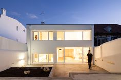 Completed in 2015 in Lisboa, Portugal. Images by Francisco Nogueira. Requalification and expansion project of an existing house, set in belém neighborhood, in Lisbon, Portugal. In the existing plot, there was a one...
