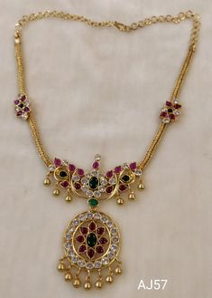 Silver Wedding Jewelry, Gold Bridal Earrings, Gold Jewelry Simple, Gold Necklace, Jewellery Sketches, Jewellery Designs, Ruby Necklace Designs, Gold Pendent, Gold Mangalsutra