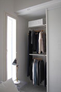 Hannas Home / clothing closet / bedroom