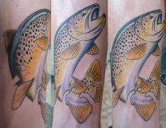 Cutthroat Trout Tattoo <b>trout tattoo</b>, <b>trout</b> and brown <b>trout</b> on pinterest