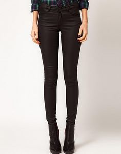 Warehouse Coated Front Skinny Jean by Warehouse