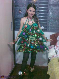 christmas tree halloween costume contest at costume workscom - Christmas Tree Costume