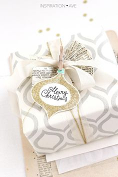 Holiday wrapping inspiration #diywithstyle