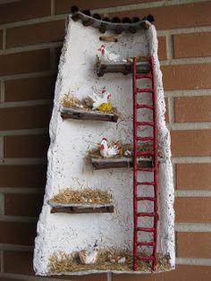 Sandylandya el sudor de mi l piz tejas - Tegole decorate istruzioni ...