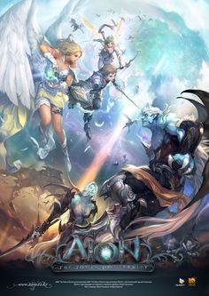 Poster - Characters & Art - Aion