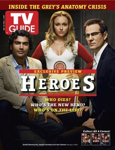 January 29, 2007 TV Guide Covers - Heroes