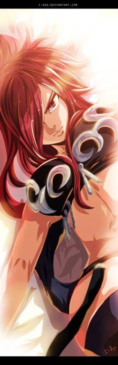 Fairy Tail Erza Nightwalker