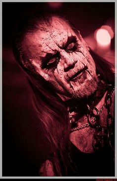 Such a transfixing expression  ( Hoest of taake is now the lead singer of gorgoroth )