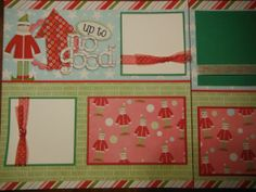 Up to No Good Elf on the Shelf Premade 12x12 Scrapbook Pages for Family this Christmas