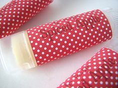 Spiced Apple Flavor - Vegan Lip Balm - Natural Lip butter - Bath and body - Home and Living - Fall Flavor