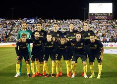 Leganés vs Atleti // Once inicial // 0-0