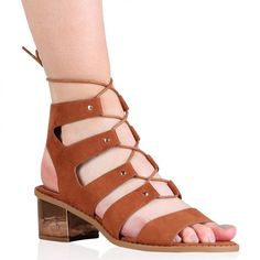 Women's Multicolor Ryleigh Gladiator Sandals In Tan - Brought to you by Avarsha.com