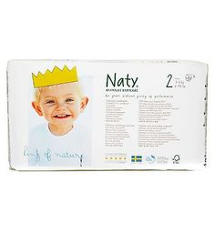 Nature Babycare Naty Nature Babycare Size 2 Carry Pack - 1 x 34 28 Advantage card points. Naty Nature Babycare Size 2 Carry Pack - 1 x 34 Nappies. Naty Nature Babycare are disposable nappies and are naturally breathable. Made from totally chlorine free material. O http://www.MightGet.com/february-2017-1/nature-babycare-naty-nature-babycare-size-2-carry-pack--1-x-34.asp
