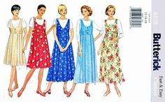 Butterick+Sewing+Pattern+4408+Maternity+Misses+Size+12-16+Easy+Pullover+Jumper