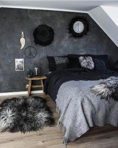 home bedroom decor Bedroom Color Schemes, Bedroom Colors, Home Decor Bedroom, Bedroom Ideas, Master Bedroom, Decor Room, Black Bedroom Decor, Bedroom Designs, Girls Bedroom