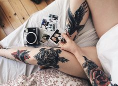 many Tattoos - Dope Tattoos, Cool Tattoos For Guys, Pretty Tattoos, All Tattoos, Beautiful Tattoos, Body Art Tattoos, Tattoos For Women, Best Tattoo Ever, Tattoo Feminina
