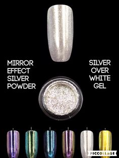 Shellac nails Mirror nails chrome nails by Lovetobakeandcraft.com Google to buy safely