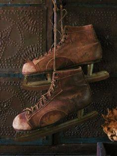 brown skates