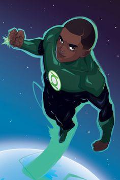 Green Lantern (John Stewart) by Mro16 on DeviantArt